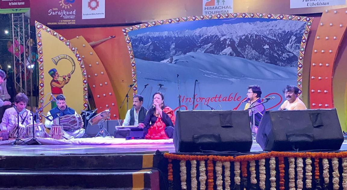 Singer Rashmi Agarwal