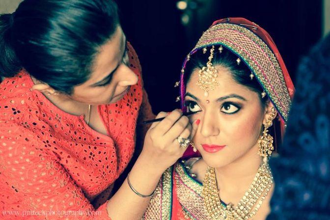 Shruti and Yashaswini Bridal Makeup