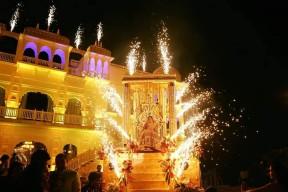 Mumbai Fireworks display