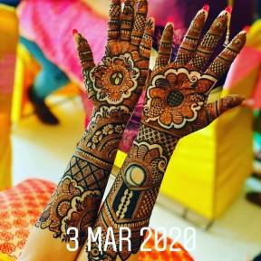 Jaipuri Mehendi Art