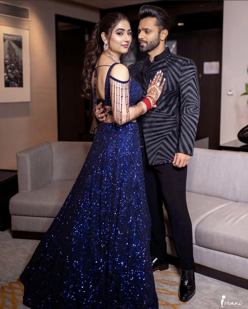 Rahul Vaidya & Disha Pamar