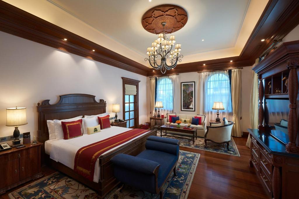 Presidential Villa, 2 Bedroom Penthouse Villa, Resort view